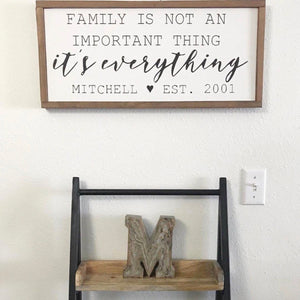 25x13 // FAMILY IS EVERYTHING