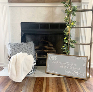 BETTER THAN I WAS  // FARMHOUSE STYLE WOOD SIGN