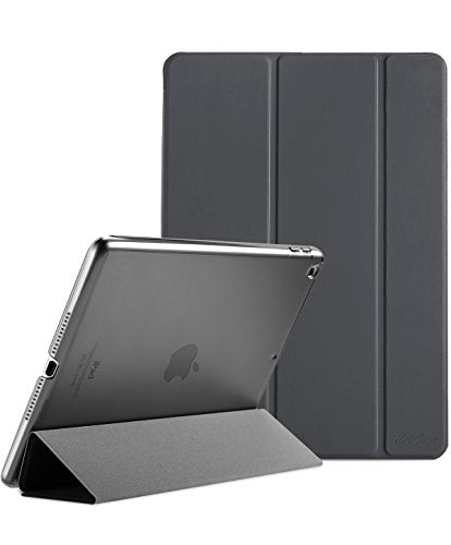 "ProCase Apple iPad Case 9.7"" 2017 - Ultra Slim Lightweight Stand Smart Case with Translucent Frosted Back Cover for 2017 New Apple iPad 9.7 Inch, With Auto Sleep/Wake Feature"