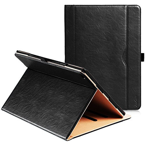 "ProCase Fire 7 2015 Case - Leather Stand Folio Case Cover for 2015 Amazon Fire 7 Inch Tablet (will only fit Fire 7"" Display 5th Generation - 2015 release)"