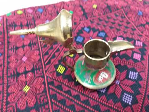 Antique Arabic Islamic Copper Dallah Coffee