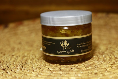 Moroccan silt mask skin face and body care