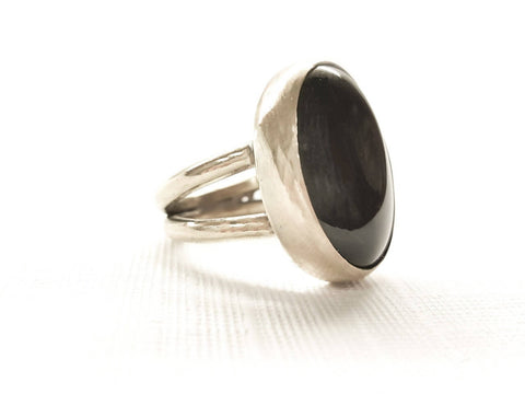 Handcrafted Agate stone ring stunning royal classic style for women made with 925 sterling silver metal