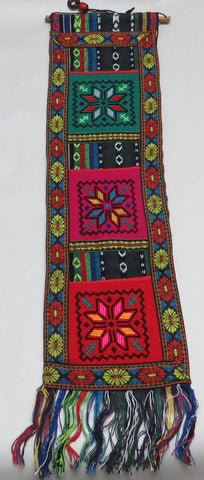 Wall Hanging Handmade Palestine Palestinian Embroidery Folk Art Home Decor