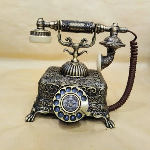Manufacturers selling antique European Garden creative rotary telephone phone home,office