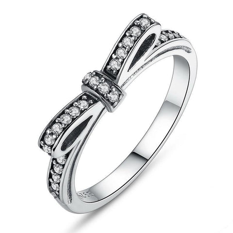 925 Sterling Ring Micro Pave CZ for Women