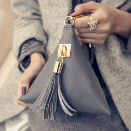 Fashion Mini Clutch Leather Bag