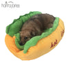Hot Dog Bed Sofa Cushion Warm Dog House