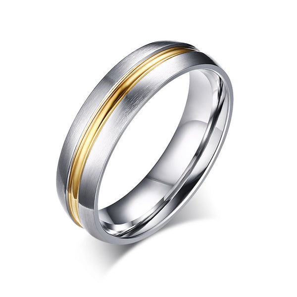 Wedding Ring for Women / Men CZ Stone