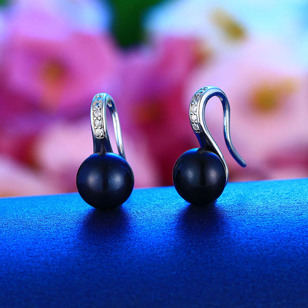 Pearl Earrings 925 Sterling Silver Earrings