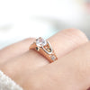 wedding Rings for women Rose Gold color
