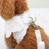 Pet Clothes With Leash Angle Harness