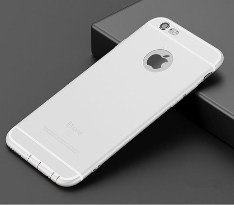 Luxury Back Matte Soft Silicon Case