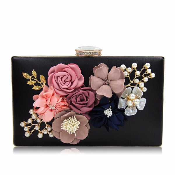 Women Clutch Lady Flower Day Clutches Female Wedding Purses