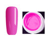 1 Pc 4ml High Quality Pure Colors UV Gel Nail Manicure for LED UV Lamp Gel Solid Color Nail Art Gel Varnish