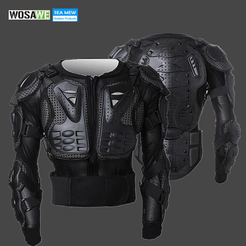 WOSAWE 2017 Snowboard Skiing Professional Motorcycle Body Protection Motorcycle Racing Armor Chest Protective Skiing Jacket Gear