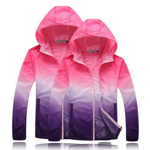Plus Size Sun Protective Lovers Men Women Jacket 2017 Summer Ultrathin Breathable Windbreaker Coat Women's Casual Jackets,AW073
