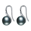 Freshwater pearl drop earrings with 925 sterling silver