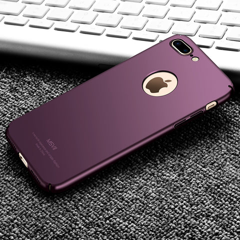 Luxury Slim Hard Silicone Scrub PC Back Cover
