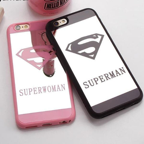 Superman Mirror Surface Case Chrome Back Cover
