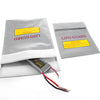 1Pc Fireproof RC LiPo Li-Po Battery Fireproof Safety Guard Safe Bag Charging Sack Battery Safety Guard Silver 180 X230 mm Hot!
