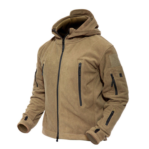 MAGCOMSEN Men Jackets Winter Warm Fleece Jackets Army Military Tactical Jacket and Coat Thermal Outwear Clothing Man YCIDL-001-2