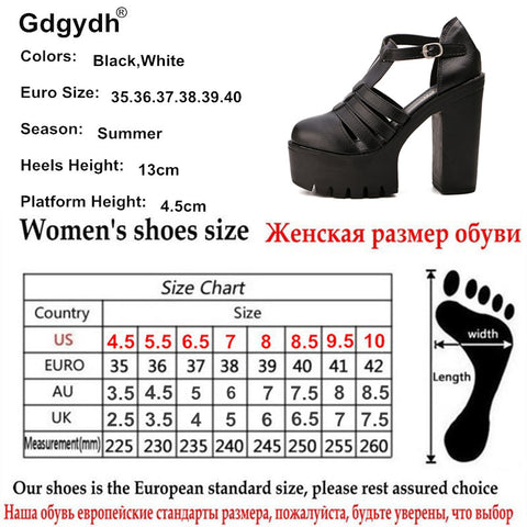 646365abe ... Gdgydh Hot Selling 2018 New Summer Fashion High Platform Sandals Women  Casual Ladies Shoes China Black