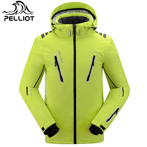 Free shipping!Guarantee the authentic!2016 Pelliot ski jacket Men's water-proof,breathable thermal snowboard outcoat