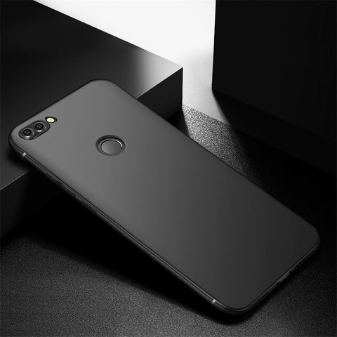 MAKAVO Cover For Huawei P Smart Case 360 Protection Soft Silicone Matte Phone Cases Capa Fundas