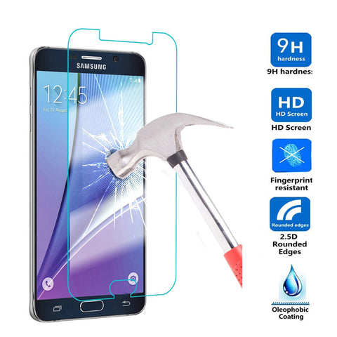 For Samsung Galaxy A5 A7 A8 + 2018  A3 A5 A7 2017 Tempered Glass J1 J2 J3 J5 J7 2016 J510 Anti Shatter Screen Protector Film