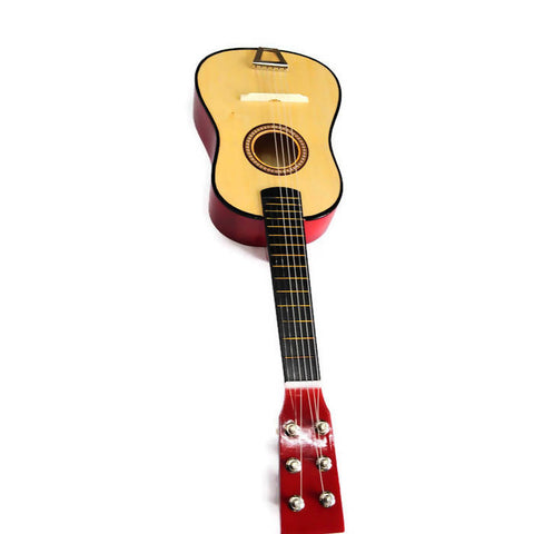Wooden Guitar Handmade Size 59*18Cm Beginners Practice Musical Instrument wood M.D.F