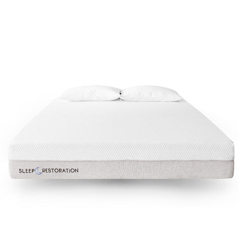 "Sleep Restoration Memory Foam Mattress – Best Memory Foam Mattress - 10"" Thick Queen Mattress - Available in Multiple Sizes - Ventilated Cool Gel Memory Foam For Comfortable & Supportive Sleep"