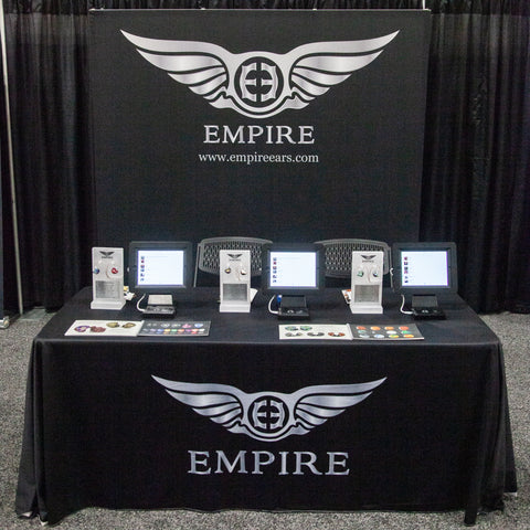 Empire Ears Axpona Booth In-Ear Monitor Demo Station