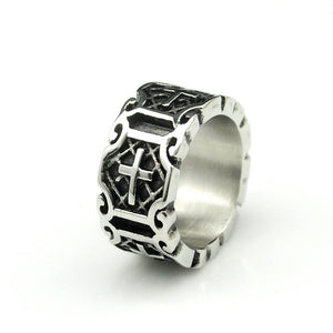 Faithful Servant Stainless Steel Ring