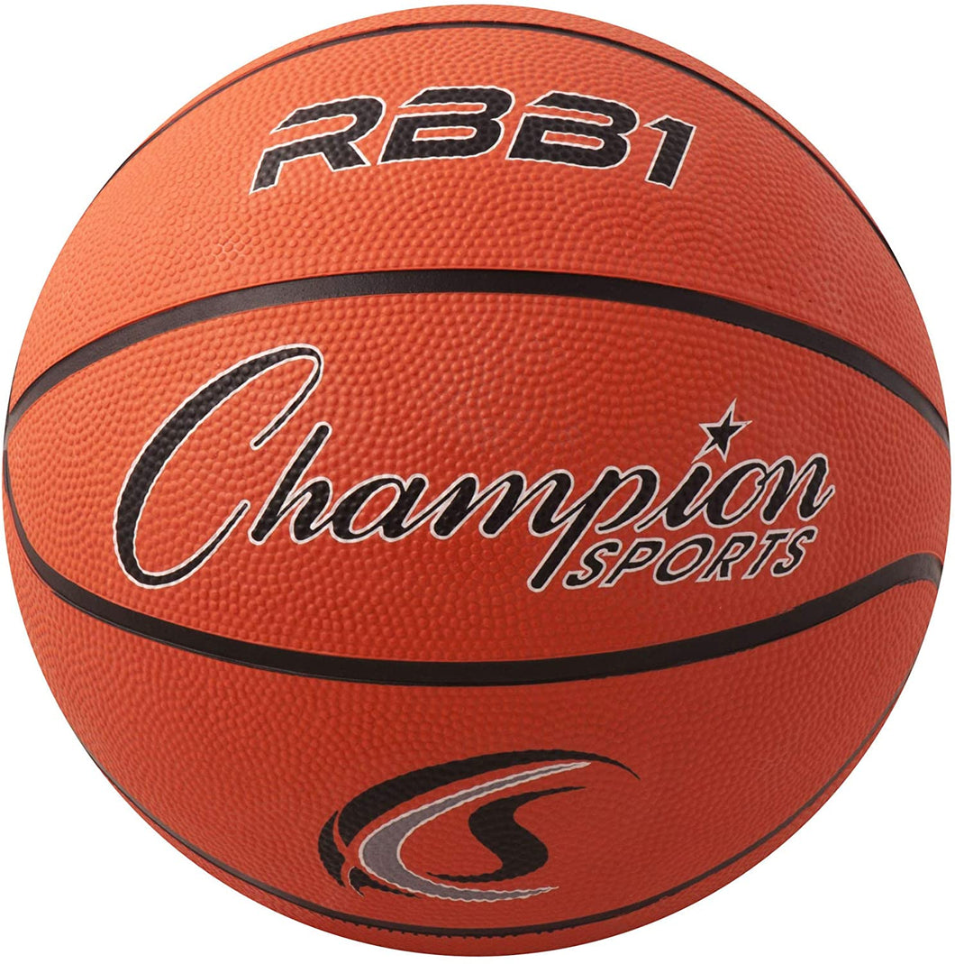 Champion Sports 29.5 Rubber Basketball
