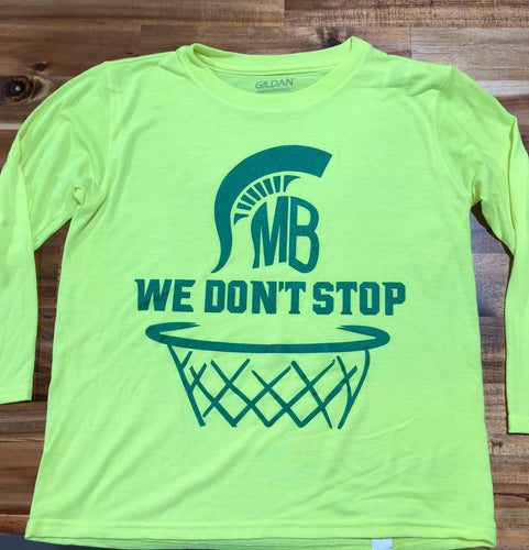2018 MBHS Playoff Basketball Shirt
