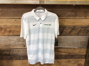 *Spartan Pride Striped Nike Polo with Green Mountain Brook