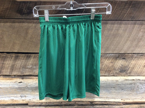 A4 Youth Athletic Shorts-Green