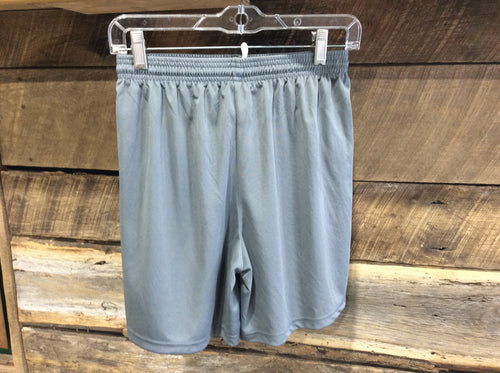 A4 Youth Athletic Shorts-Graphite