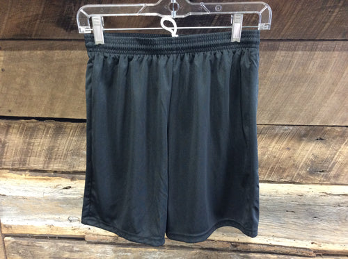 A4 Youth Athletic Shorts-Black