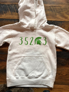 352*3 Comfort Color Youth Hooded Sweatshirt/White