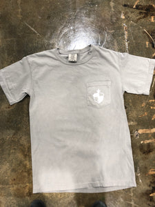 MB Crest Adult Short Sleeve Tee/Gray