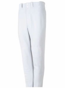 Mizuno youth Premier Pro Hemmed pants - White