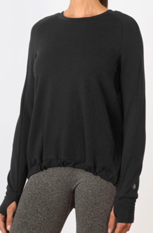MPG Slouch Long Sleeve Pullover
