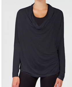 MPG Tensile Cashmere Luxe Oversized Top