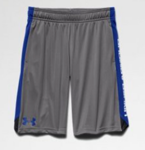 Under Armour Boys Eliminator Shorts-Graphite/Royal
