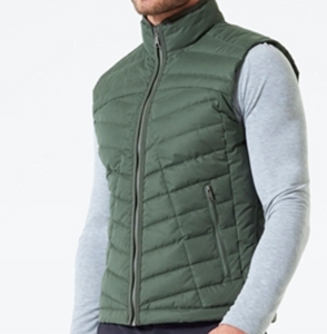 MPG Crusade Down Filled Quilted Vest - Kelp