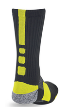 Pro Feet Shooter 2.0 Sock-Black/Neon Green