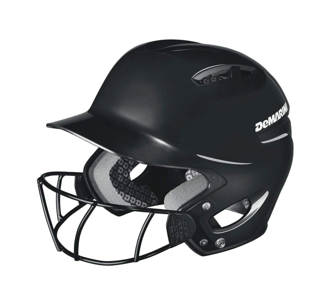 Demarini Paradox Protege Batting Helmet- Black
