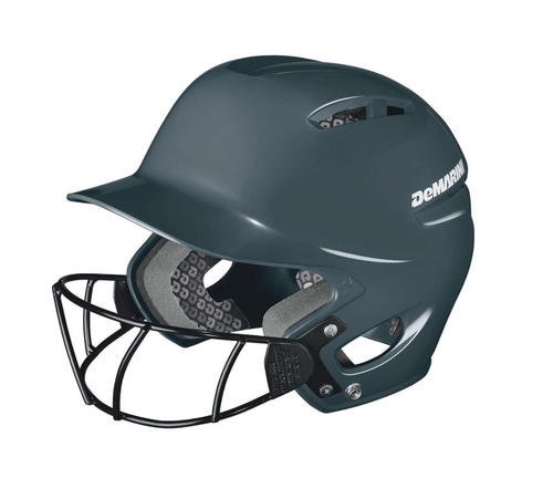 Demarini Paradox Protege Batting Helmet- Charcoal